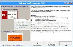 Enlarge TicketCreator Screenshot