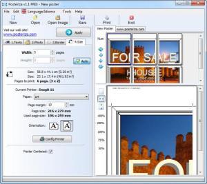 Enlarge Posteriza Screenshot