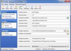 Enlarge Bytessence InstallMaker Screenshot