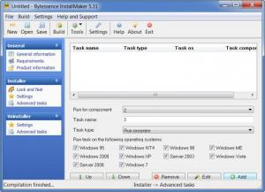 Enlarge Bytessence InstallMaker Screenshot