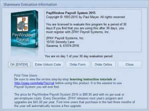 Enlarge PayWindow Payroll System Screenshot