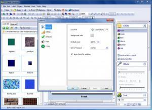 Enlarge CD Label Designer Screenshot
