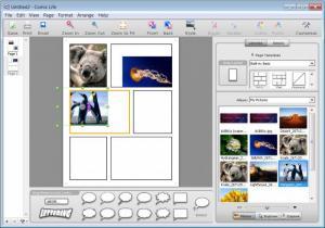 Enlarge Comic  Life Screenshot