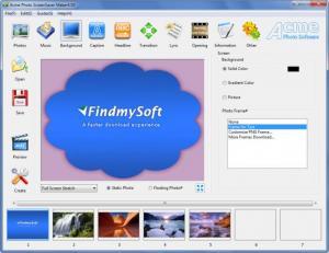 Enlarge Acme Photo ScreenSaver  Maker Screenshot