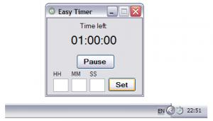 Enlarge Easy Timer Screenshot