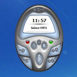 Enlarge MP3 Pizza  Timer Screenshot