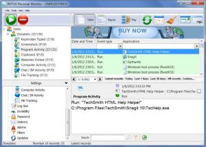 Enlarge REFOG Personal Monitor Screenshot