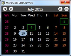 Enlarge WorldClock Screenshot