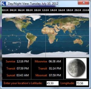 Enlarge WorldClock Screenshot