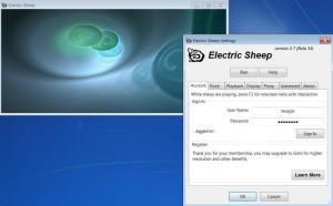 Enlarge Electric  Sheep Screenshot
