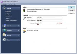 Enlarge WinLock Screenshot