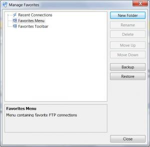 Enlarge WISE-FTP Screenshot