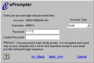 Enlarge ePrompter Screenshot