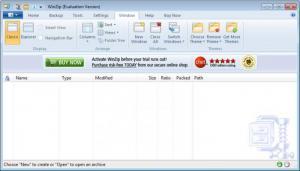 Enlarge WinZip Screenshot