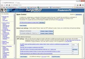 Enlarge SurgeMail Screenshot