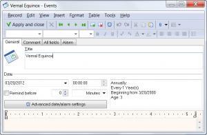 Enlarge WinOrganizer Screenshot