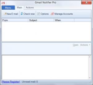 Enlarge Gmail Notifier Pro Screenshot