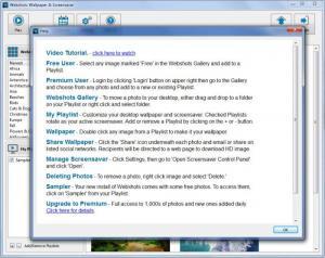 Enlarge Webshots Screenshot
