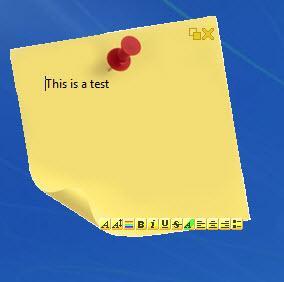 Enlarge PNotes Screenshot