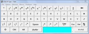 Enlarge Click-N-Type Screenshot