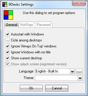 Enlarge 9Desks Screenshot