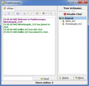 Enlarge PopMessenger Screenshot