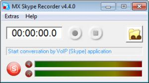 Enlarge MX Skype Recorder Screenshot