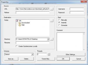 Enlarge Net Transport Screenshot
