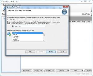 Enlarge BatchSync  FTP Screenshot