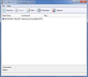 Enlarge PyroBatchFTP Screenshot