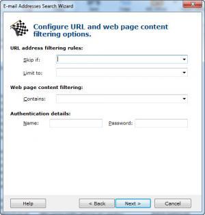Enlarge Atomic Email Hunter Screenshot