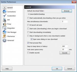 Enlarge iGetter Screenshot