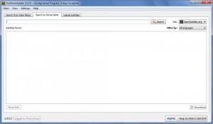 Enlarge SubDownloader Screenshot