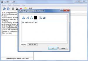 Enlarge Mumble Screenshot