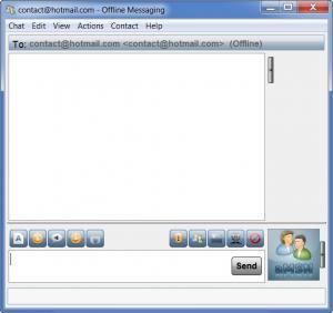 Enlarge aMSN Screenshot