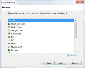 Enlarge Instantbird Screenshot