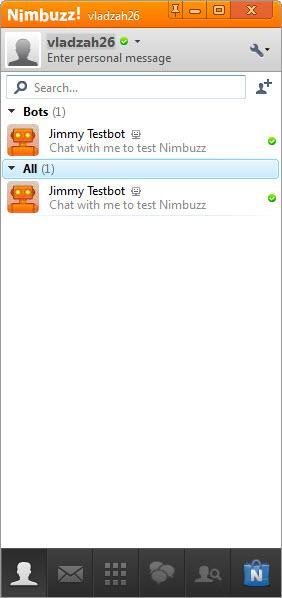 Enlarge Nimbuzz Screenshot