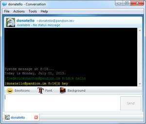 Enlarge Pandion Screenshot