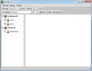 Enlarge Windows  Communicator Screenshot