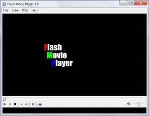 Enlarge Flash Movie  Player Screenshot