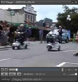 Enlarge FLV Player Screenshot