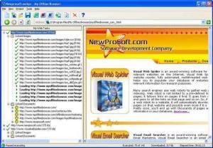 Enlarge My Offline  Browser Screenshot