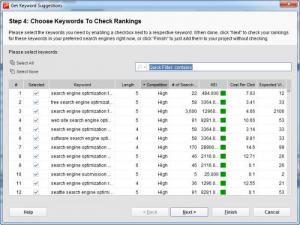 Enlarge Rank Tracker Screenshot
