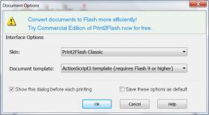 Enlarge Print2Flash Free Screenshot