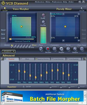 Enlarge AV Voice Changer Software Diamond Screenshot