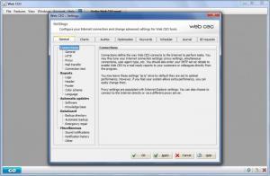Enlarge Web  CEO Screenshot