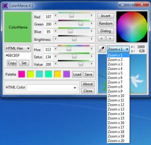 Enlarge ColorMania Screenshot