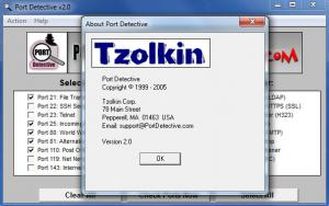 Enlarge Port  Detective Screenshot