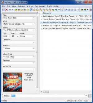 Enlarge mp3Tag Screenshot