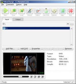 Enlarge Videocharge Screenshot
